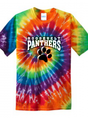 Roosevelt Panthers Tie-Dye Tee