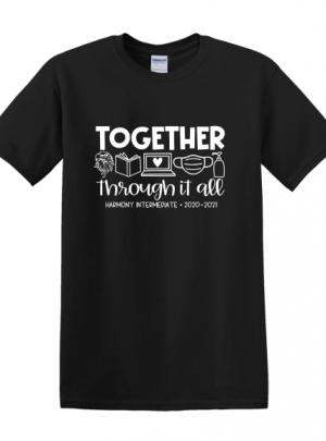 Harmony Intermediate Together Through It All Short Sleeve T-Shirt