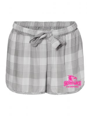 Women's Lounge-Lite Shorts, grey/white, XS-2XL