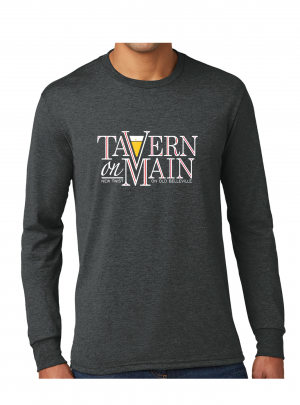 Tavern on Main – Long Sleeve T-Shirt – Black Frost