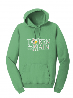 Tavern on Main – Hoodie – Safari Green