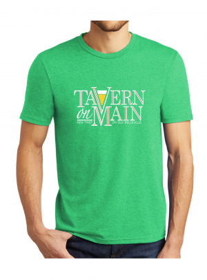 Tavern on Main – Short Sleeve T-Shirt – Green Frost