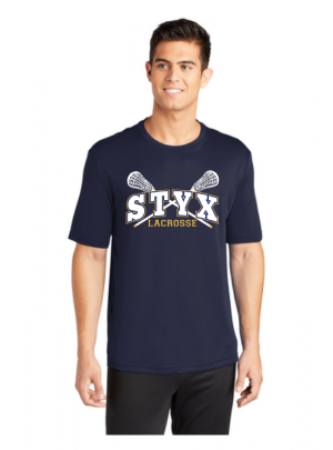 STYX Spirit Wear Short Sleeved 100% poly wicking tee