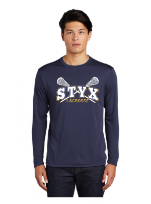 STYX Spirit Wear Long Sleeved 100% poly wicking tee